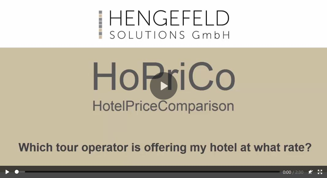 Video tutorial: Which tour operator is offering my hotel at what rate?