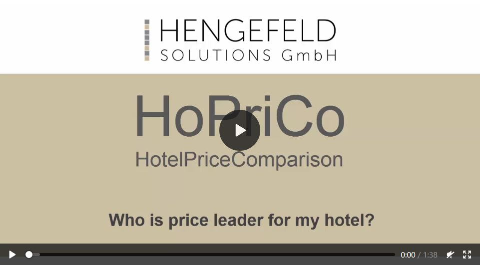 Video tutorial: Who is price leader for my hotel?